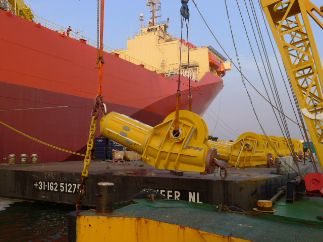 FPSO Anchor Chain Fairleaders