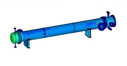 FEA of Heat Exchanger