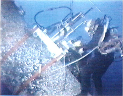 Diver Operated Drill
